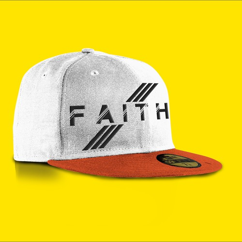 "Create a Bold or Sleek Variation of The Word ""Faith"" for a Hat (by DJJ1)"