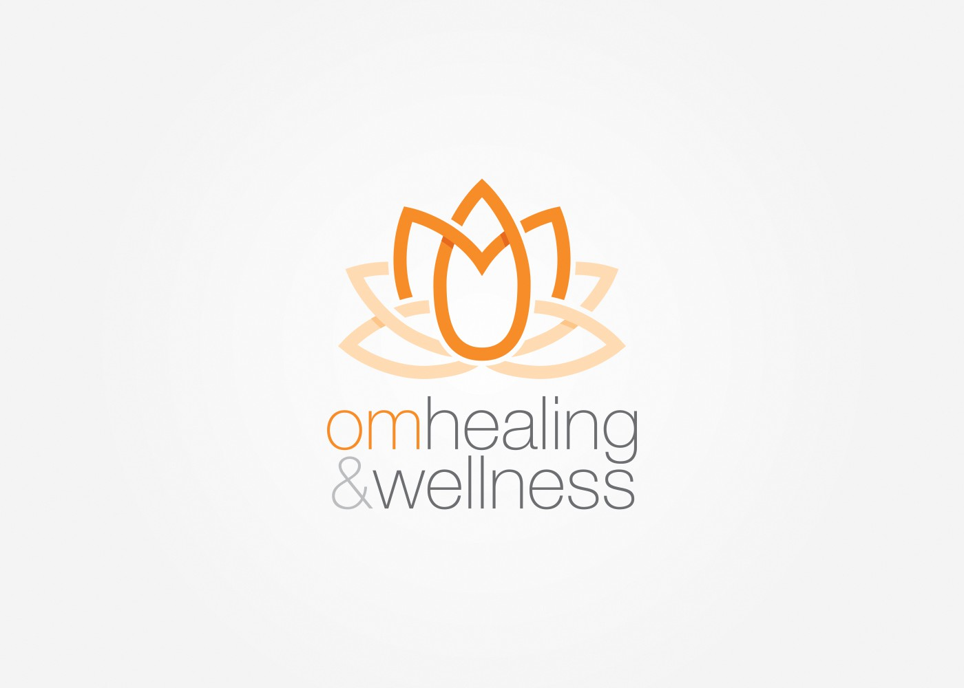 Creating a Logo for Om Healing and Wellness