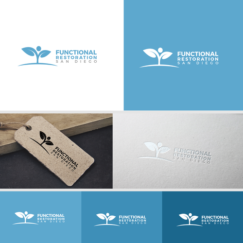 LOGO FOR FUNCTIONAL RESTORATION IN SAN DIEGO