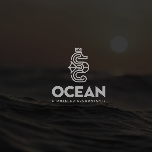 Logo design for Ocean Chartered Accounting