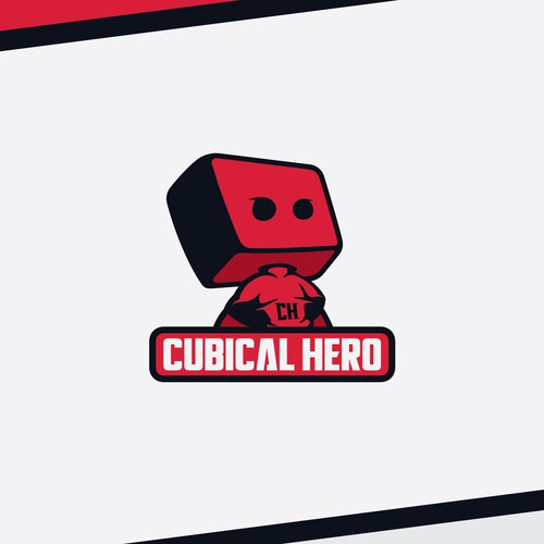 Fun logo for Cubical Hero