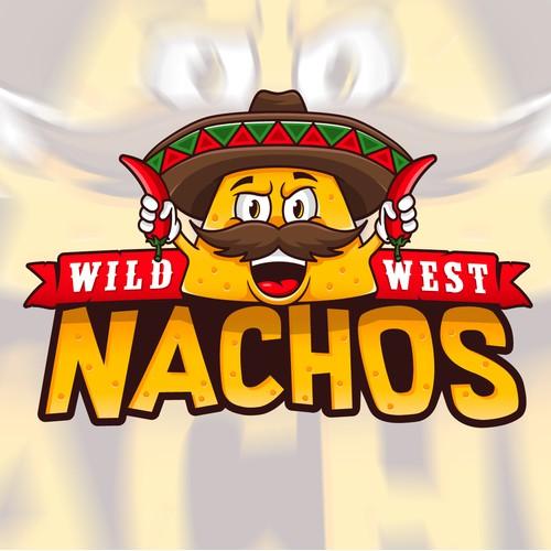 Logo/Mascot Wild West Nachos