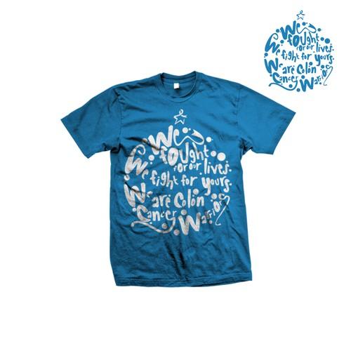 Undy Run/Walk 5K Colon Cancer Survivor Shirt