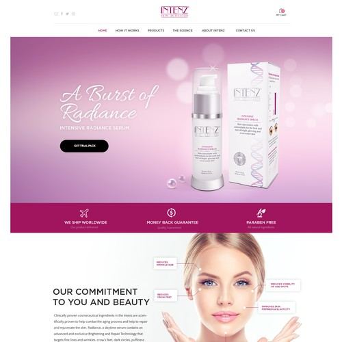 Design for Cosmetic Company