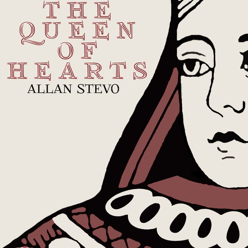 Design Queen of Hearts Book Cover Today, Printed Next Week