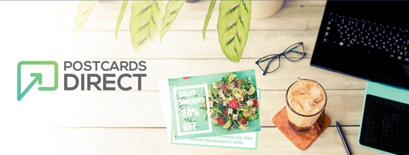 Facebook/Instagram Banner Design for Tech Postcard Company