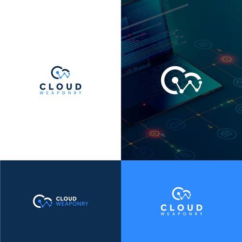 Cloud Weaponry Logo Design