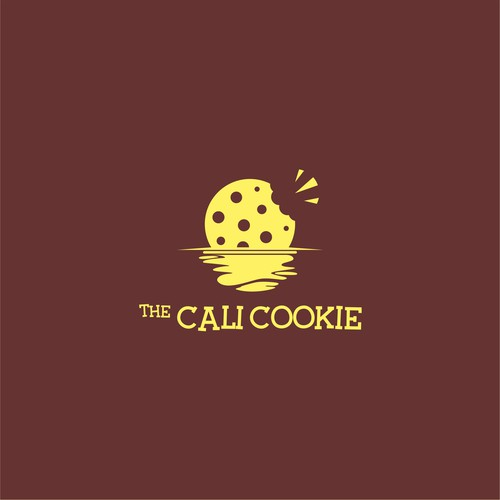Logo concept for The Cali Cookie 2
