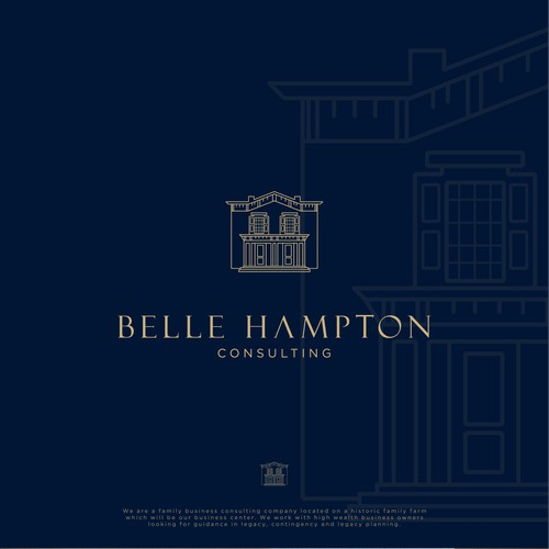 Logo Concept for Belle Hampton