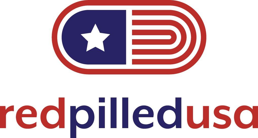 Redpilledusa logo design. An American conservative brand!