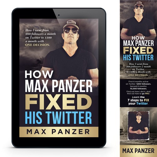 How Max Panzer FIXED His Twitter Book Cover