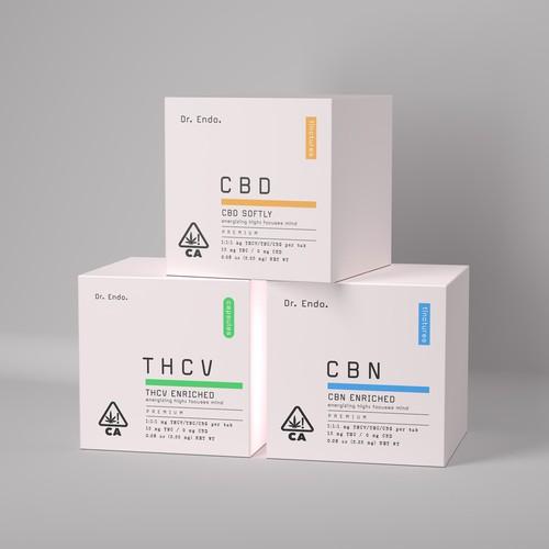 CBD Clean packaging design