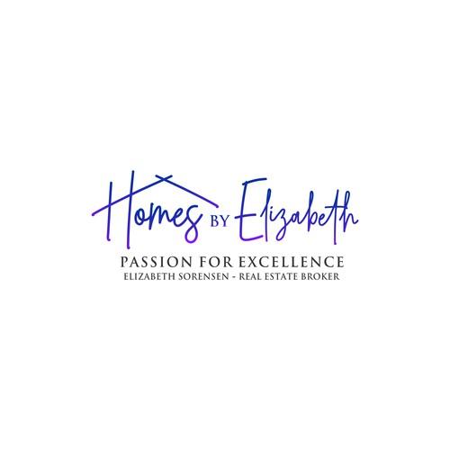 luxury home broker logo