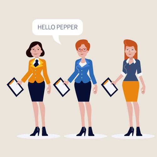 Hello Pepper design
