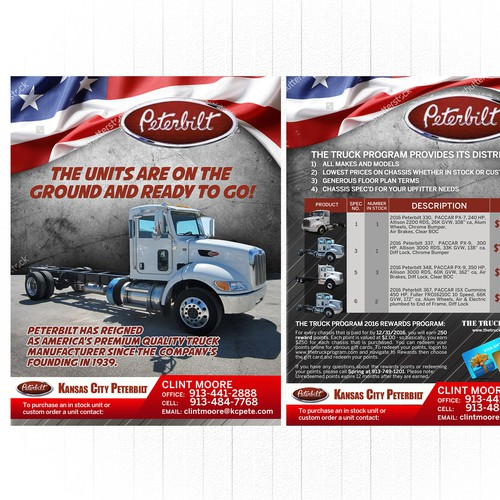 Flyer for Peterbilt