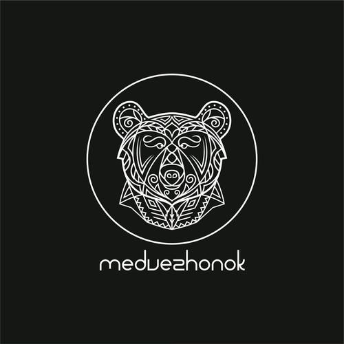 Logo Concept For Medvezhonok
