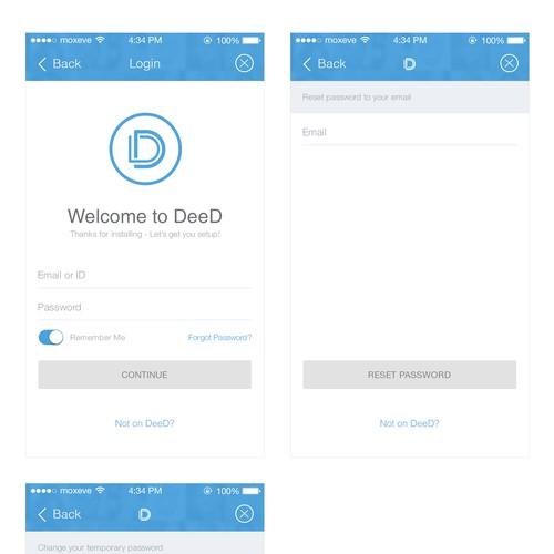 """DEED"" mobile app"