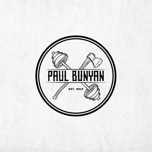 Paul Bunyan Gym Logo