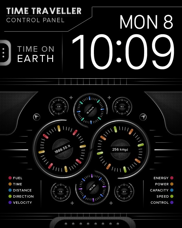 Custom watch faces for Apple Watch