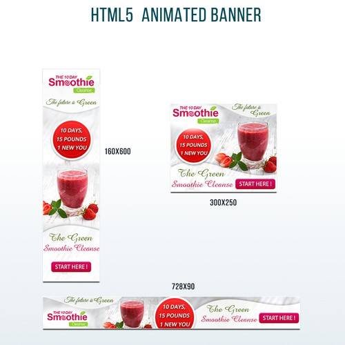 SMOOTHIE Banners