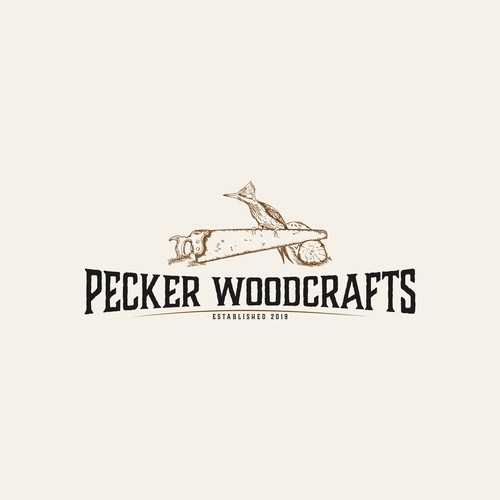 Logo for a woodcraft company