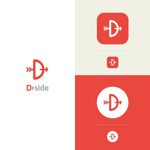 Logo for D.side app