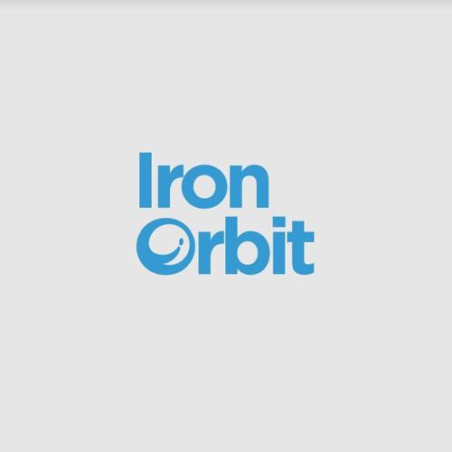 Logo design concept for Iron Orbit