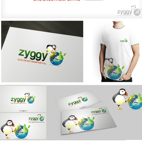 "Green, innovative ""zyggy"" needs a killer logo. Guaranteed to be a challenge!"