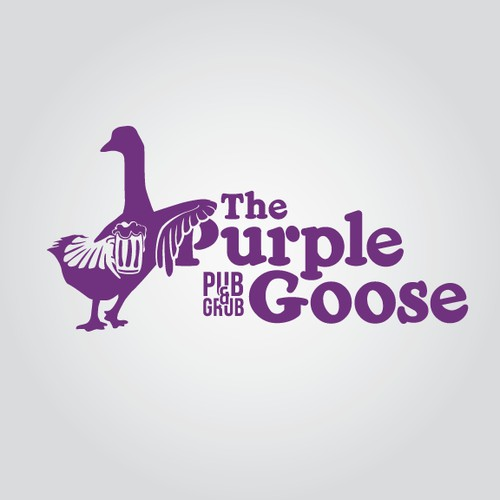 logo for The Purple Goose Pub & Grub