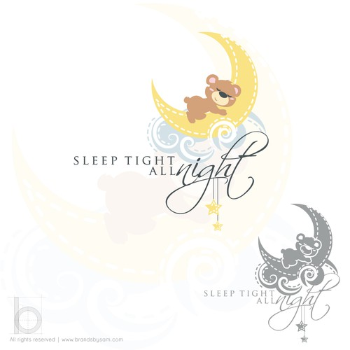 Logo that speaks to sleep deprived parents