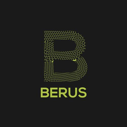 Berus bar - logo - snake skin