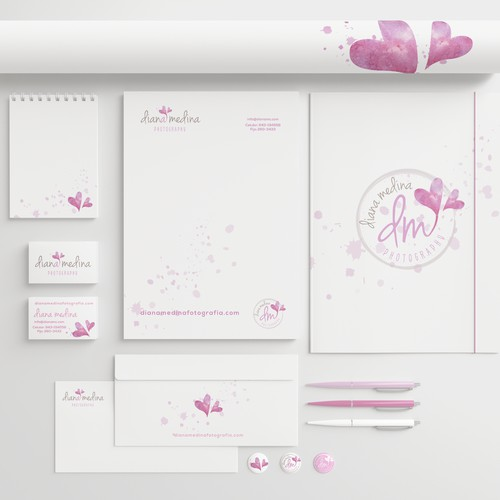 Branding for a photography business