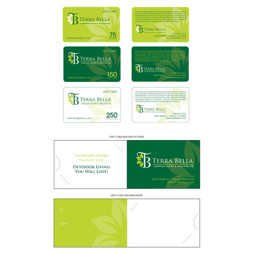 Gift Cards for Terra Bella Landscape
