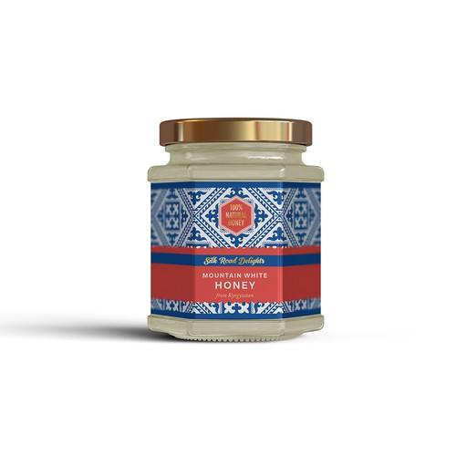 Label for white honey