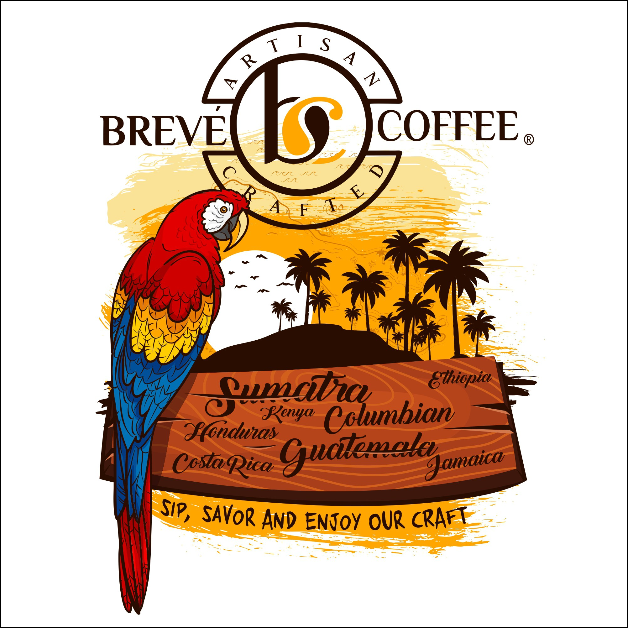 Use our Coffee Logo and Your Creativity to Design an Awesome T Shirt
