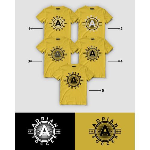 Championship Soccer Team needs MULTIPLE retro t-shirt designs