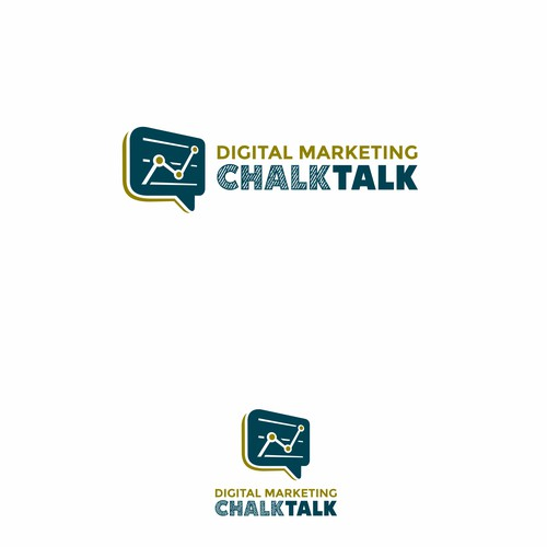 Logo concept for CHALKTALK
