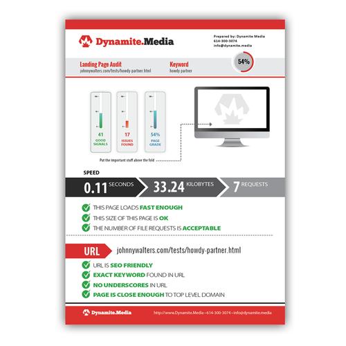 Webpage Analytics Report