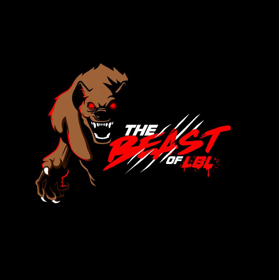 Create an exciting Beast of LBL shirt design.