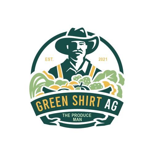Green Shirt AG Logo design proposal