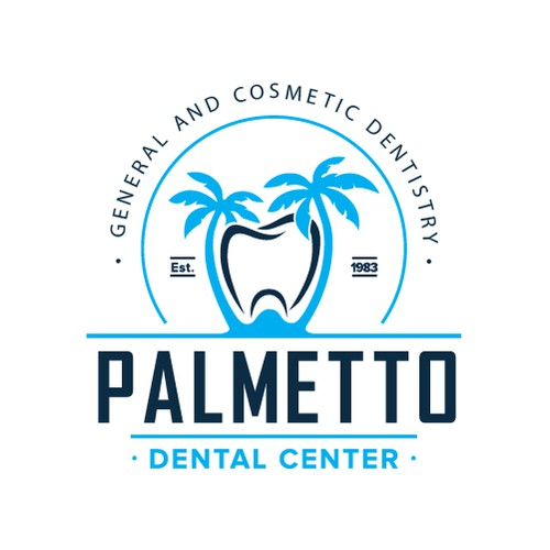 dental palm logo