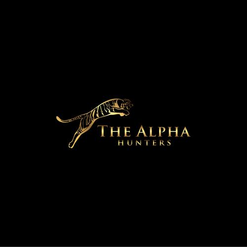 The Alpha Hunters Logo