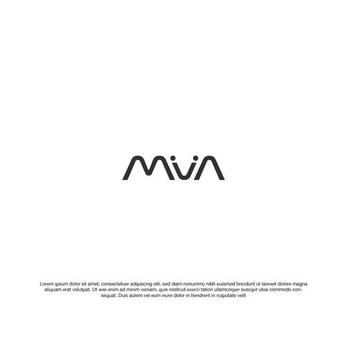typographic logo moda