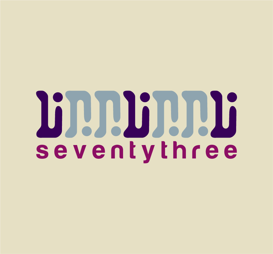 logo for SeventyThree - an unusual new international consulting firm