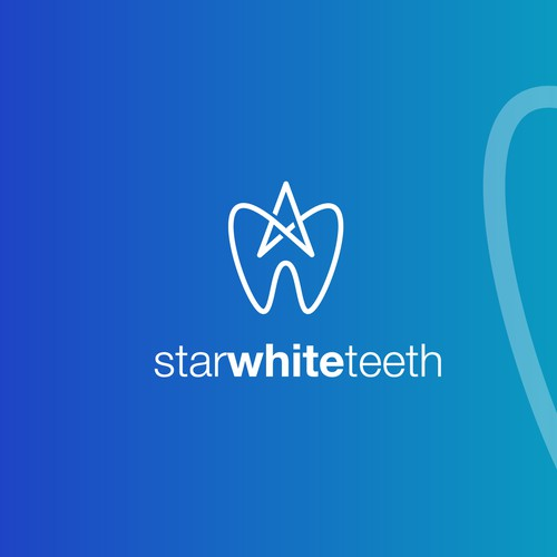 Logo Concept for a  Teeth Whitening Kit