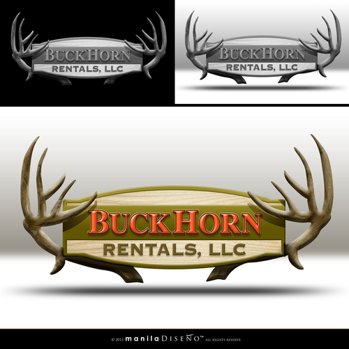 New design wanted for BuckHorn Rentals,LLC and BuckHorn Services,LLC