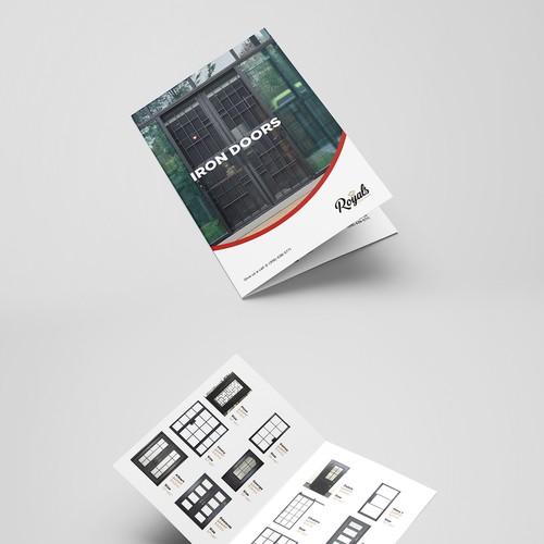 brochure & pricelist design