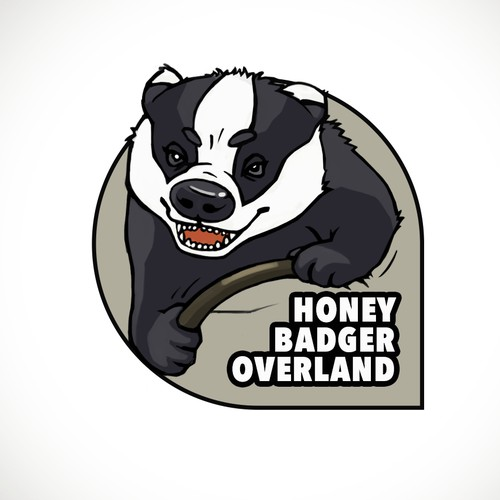Irreverent Illustration/Logo needed for Honey Badger Overland