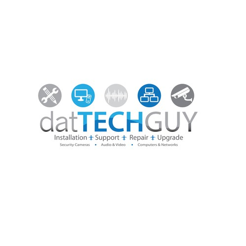 Dat Tech Guy Logo