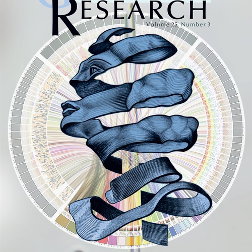 Genomic Magazine Cover